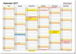 Kalender 2-2017