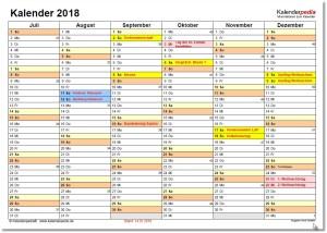 Kalender 2-2018