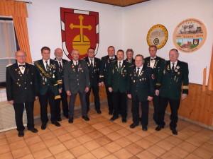 Vorstand Schützen 2016