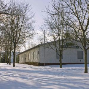 Halle im Winter :-)