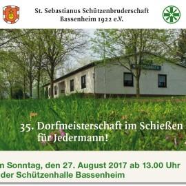 Dorfmeisterschiessen 2017 in Bassenheim